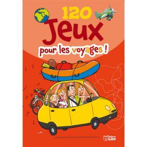 Editions Lito 120 Jeux pour les Voyages Bloc d'Activités 6 à 8 ans