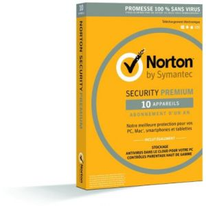 Norton Security Premium 2016 pour Windows, Mac OS, Android, iOS