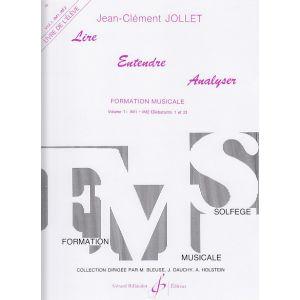Billaudot JOLLET JEAN-CLEMENT - LIRE ENTENDRE ANALYSER VOL.1 (ELEVE)