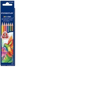 Staedtler Crayons de couleur NORIS CLUB triplus, étui carton de 6