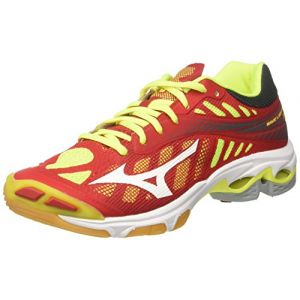 huge selection of 6eac7 5c5f9 Mizuno Wave Lightning Z4, Chaussures de Running Homme, Multicolore  (Marsred White