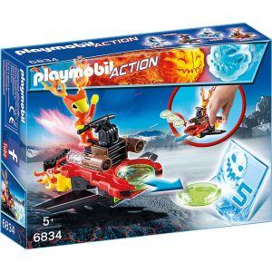 Playmobil 6834 Action - Robot de feu avec lance-disques