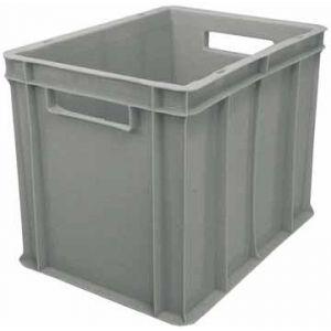 Viso Bac de stockage gerbable en plastique - 30 litres