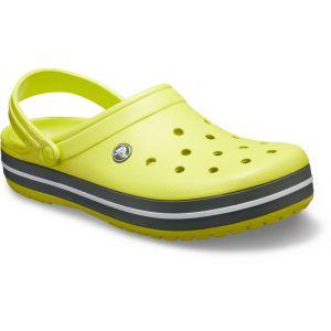 Crocs Crocband - Sandales - jaune/gris 37-38 Sandales Loisir