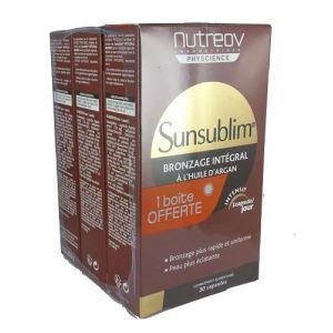Nutreov Sunsublim - Bonzage intégral à l'huile d'argan