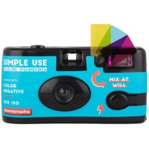 Lomography Appareil photo jetable Simple Use Color 400 ISO - SUC100CN