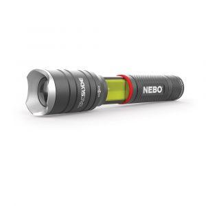 Nebo Lampe de poche et lanterne - Zoom ajustable - TAC SLYDE