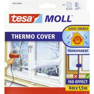 Tesa MOLL Cover film d'isolation, 4,0 m x 1,5 m