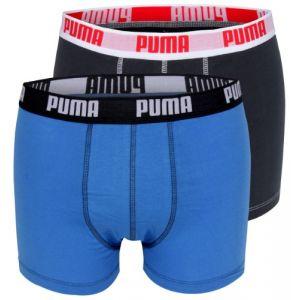 Puma Autres Lot De 2 Boxers Bleus Homme