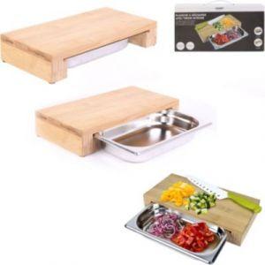 Cook Concept Planche à découper a decouper tiroir integre 32.5x16.2