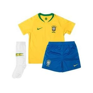 Nike Brésil Maillot Domicile Coupe du Monde 2018 Mini-Kit