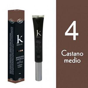 K pour Karité Mascara pour cheveux couleur Châtain moyen n°4
