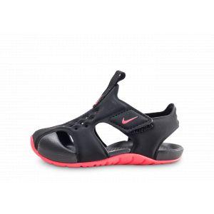 Nike Bébé Sunray Protect 2 Noire Et Rose Bébé 23 1/2