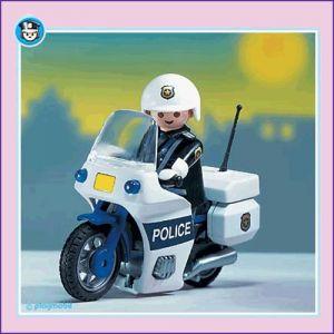 Playmobil 3986 Motard de police