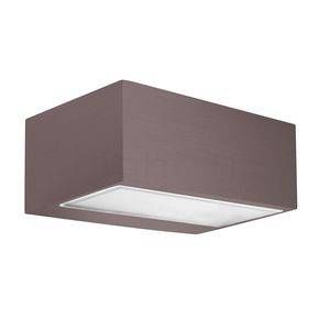 Led C4 Applique d'extérieur LED Némésis, brun