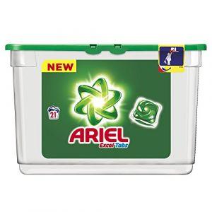 Ariel Lessive tablettes Excel Tabs 21 lavages