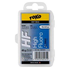 Toko Cires High Performance Wax - Blue - Taille 40 gr / -10°C bis -30°C
