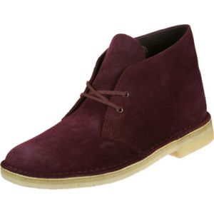 Clarks Originals Desert Boot chaussures bordeaux 41 EU
