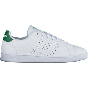 Adidas Advantage, Chaussures de Tennis Homme, Multicolore FTWR White/Green F36424, 43 1/3 EU