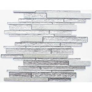 Mosaïque Brique 30 x 30 cm Blanc