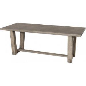 Macabane Table à manger rectangulaire en teck - 200 x 90 x 75 cm JARDITECK