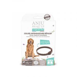 Anju Beauté Paris Collier insectifuge pour chien de taille moyenne 60 cm
