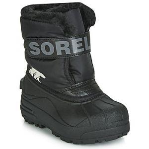 Sorel Bottes neige enfant CHILDRENS SNOW COMMANDER Noir - Taille 25,26,27,28,29,30,31