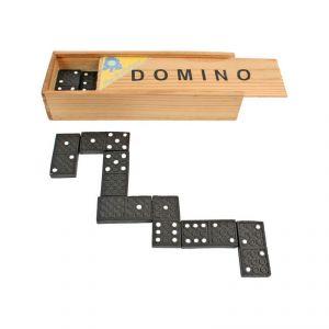 Domino boite bois