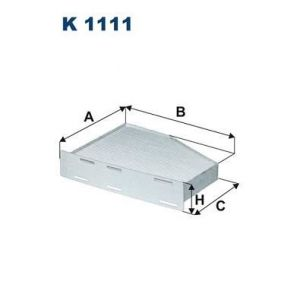 Filtron Filtre d'habitacle K1111