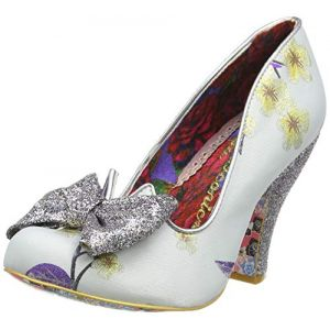 Irregular Choice Chaussures escarpins NICK OF TIME - Couleur 36,38,39,40 - Taille Blanc