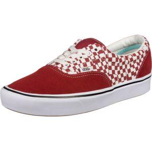 Vans Baskets basses Comfycush Era damier rouges Rouge