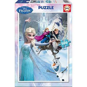 Educa La Reine des neiges - Puzzle classique 500 Pièces