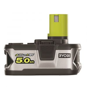 Ryobi One+ 2x Batteries 18V Lithium+ 5,0 Ah + Chargeur rapide
