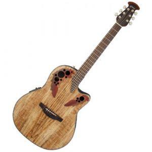 Ovation Guitars Celebrity Elite Plus CE44PSM Spalted Maple