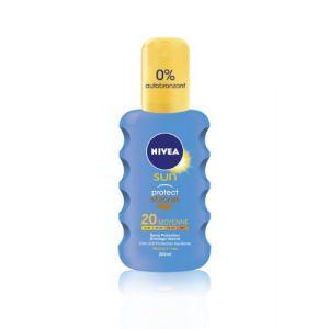 Nivea Sun Protect & Bronze FPS 20 Moyenne - 200 ml