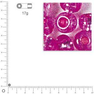 Rayher Perles de rocaille - 2 mm - rose foncé
