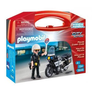 Playmobil 5648 City Action - Valisette Motard de police