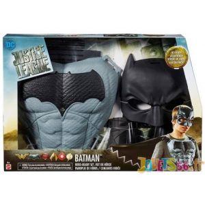 Mattel Déguisement Justice League Cape et équipement Batman