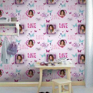 Decofun Papier peint Violetta Sing Love Disney Channel