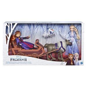 Hasbro Anna et Elsa en traîneau La Reine des Neiges 2