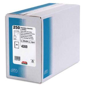 Gpv 250 enveloppes 22,9 x 32,4 cm avec fenêtre 5 x 11 cm