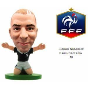 SoccerStarz Figurine Karim Benzema (France)