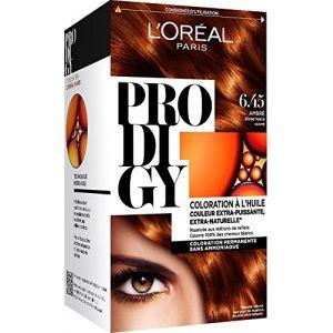 L'Oréal Prodigy 6.45 Ambre blond foncé cuivré, Couleur extraordinaire