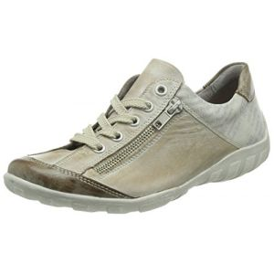 Remonte R3417, Sneakers Basses femme, Beige (Taupe/steel/ice/42), 45 EU