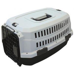 M pets M-PETS Caisse de transport Viaggio Carrier XS - 48,3x32x25,4cm - Noir et gris - Pour chien et chat - Taille XS - En plastique - Dimensions : 48,3x32x25,4cm - Coloris : noir et gris - Pour chien et chat.