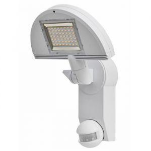 Brennenstuhl Lampe LED Premium City LH 562405 PIR IP44 blanc, avec détecteur de mouvements infrarouge
