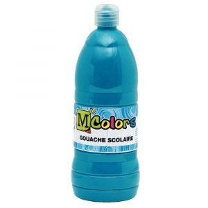 M colors 24916 - Gouache liquide coloris turquoise - Flacon de 1 litre