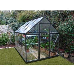Chalet et Jardin Victorienne 86 - Serre de jardin en alu et polycarbonate 4,65 m2
