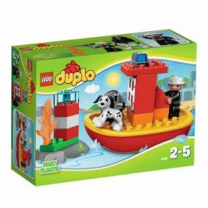 Duplo 10591 - Le bateau des pompiers