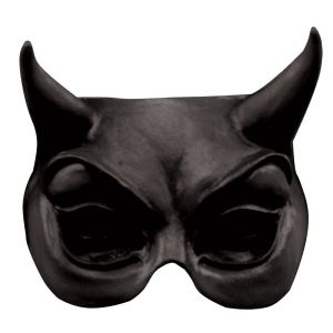 Demi-masque diable adulte